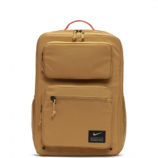 Nike Utility Speed Trainning Backpack - Wheat/ Wheat/ Track Red