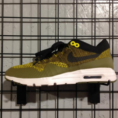 Nike W Air Max 1 Ultra Flyknit - Olive Flak/ Black - Game Royal