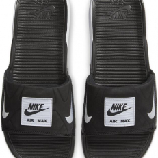 Nike W Air Max 90 Slide - Black/ White