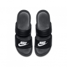 Nike W Benassi Duo Ultra Slide - Black/ White