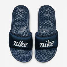 Nike W Benassi JDI TXT SE - Blue Force/ Metallic Summit White