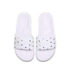 Nike W Benassi Unité Totale Slide - White/ Midnight Navy