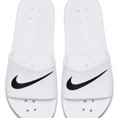 Nike W Kawa Shower Slide - White/ Black