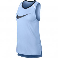 Nike Womens Breathe Elite Sleeveless Basketball Top - Royal Tint/ Black