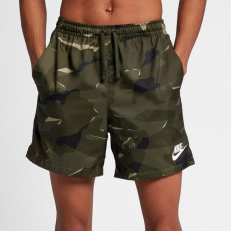 Nike Woven Flow Short Camo - Dark Green