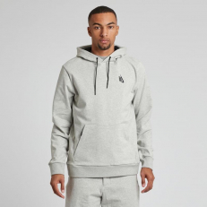 NikeLab Essentials PO Hoody 'Grey Heather-Black'
