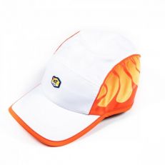NikeLab TN Tuned Air Featherlight AW84 Adjustable Cap - White/ Team Orange