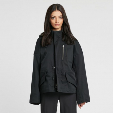 NikeLab W Military Jacket Black