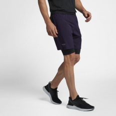 NikeLab X Undercover Gyakusou Short - Purple/ Black