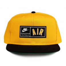 Nike Sportswear Air Pro Cap - Amarillo/ Black/ Pine Green