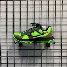 Off-White x Wmns Air Zoom Terra Kiger 5 'Athlete in Progress - Electric Green'