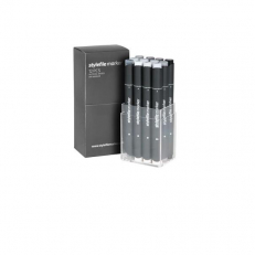 Stylefile Neutral Grey Marker Set (12 db)