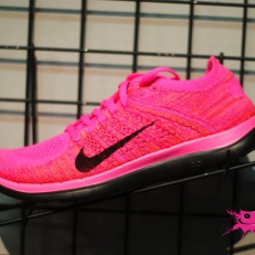 Free Flyknit 4.0 Pink Powder Black